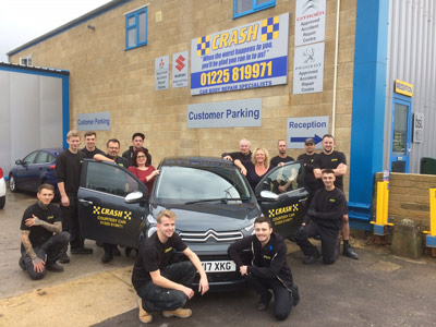 Crash Car Repairs Staff Photo