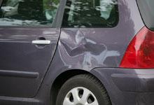 Car Door Dent Paint Bare Metal Repair
