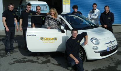 Car Crash Repair Team