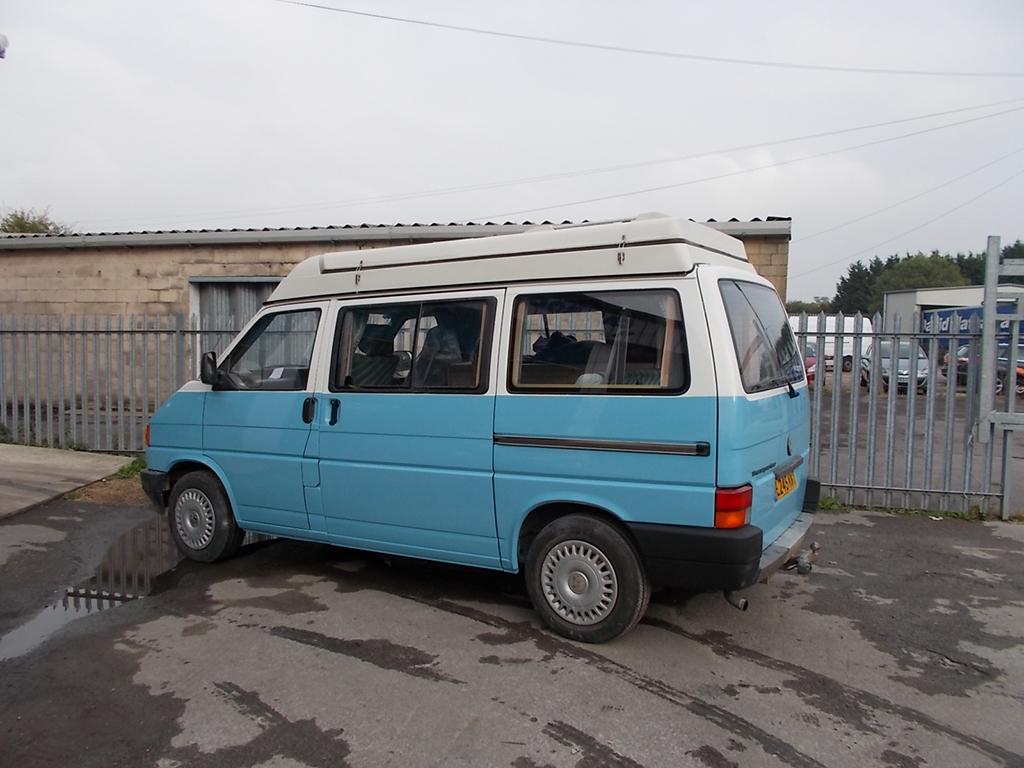 VW Camper Respray
