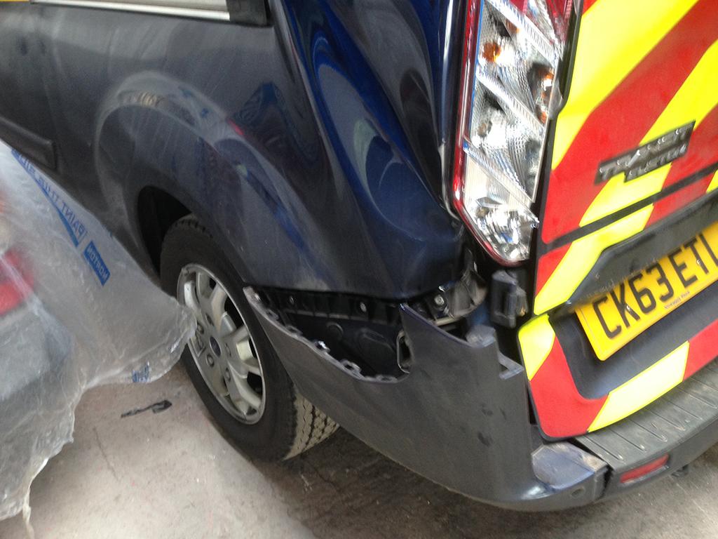 Transit Rear Bodywork Repair